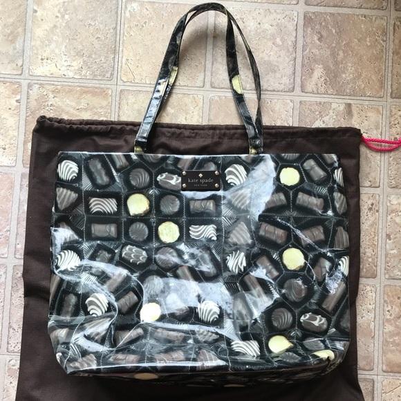 af90e570aef6 kate spade Handbags - Kate Spade Chocolate Tote bag
